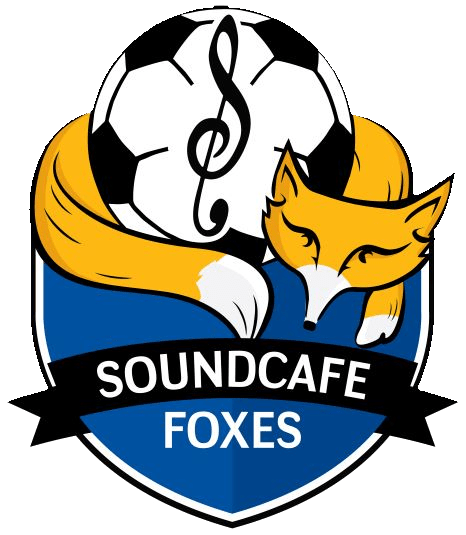 SoundCafe Foxes football team logo leicester charity